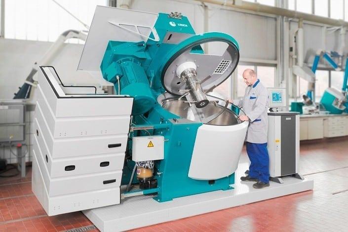 Neues Intensivmischsystem Fabrikat EIRICH R16