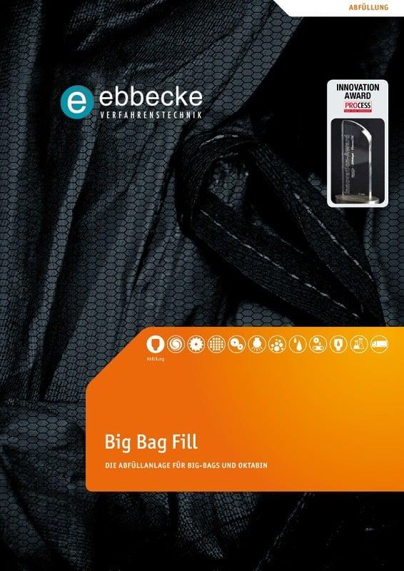 Ebbecke Verfahrenstechnik Flyer Big Bag Fill