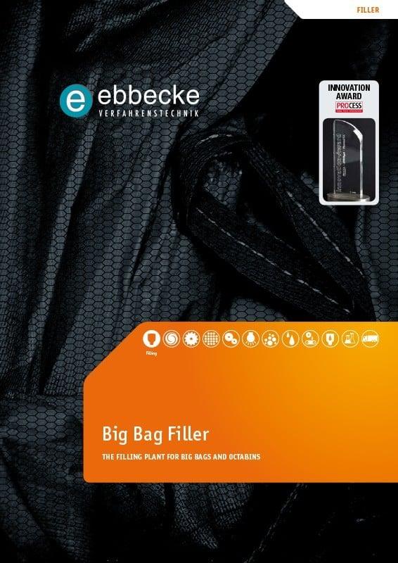 Ebbecke Verfahrenstechnik Flyer Big Bag Filler