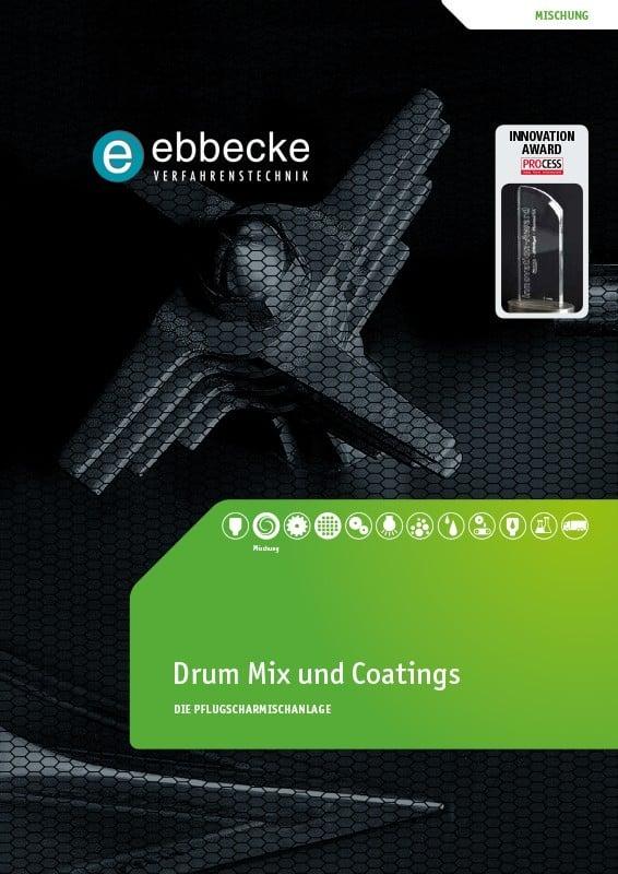 Ebbecke Verfahrenstechnik Flyer Drum Mix und Coatings
