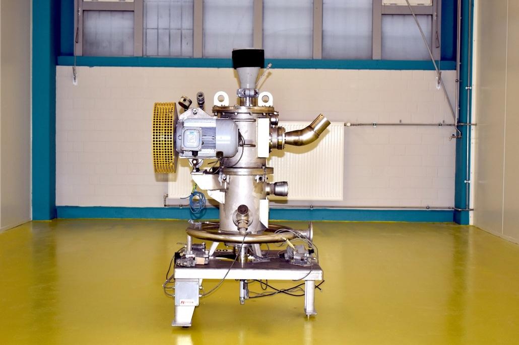 Die neuen Hygiene-Standard-Boxen wurden für die neuen Mahlanlagen fertiggestellt, Fabrikat Hosokawa Alpine, Type AFG 400 und AFG 200