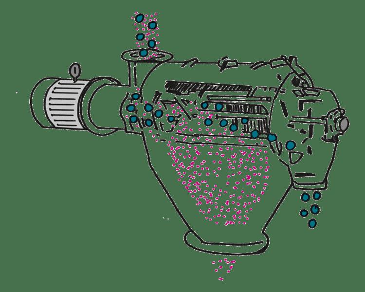 Ebbecke Verfahrenstechnik Centrifugal screening