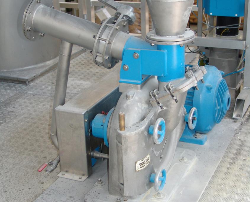 Ebbecke Verfahrenstechnik Cryogenic Mill