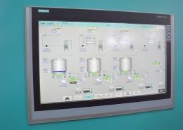 Flüssigmischungen Ebbecke Verfahrenstechnik Monitor Kontrolle