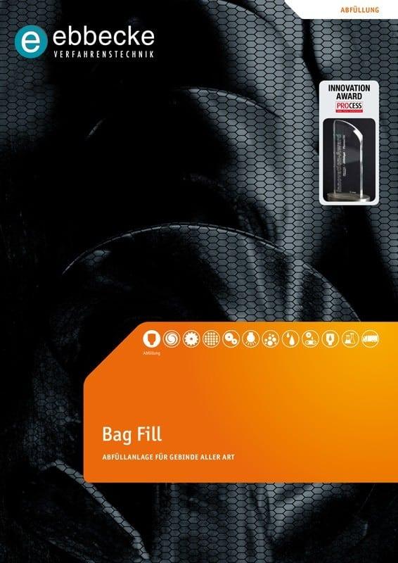 Ebbecke Verfahrenstechnik Flyer Bag Fill