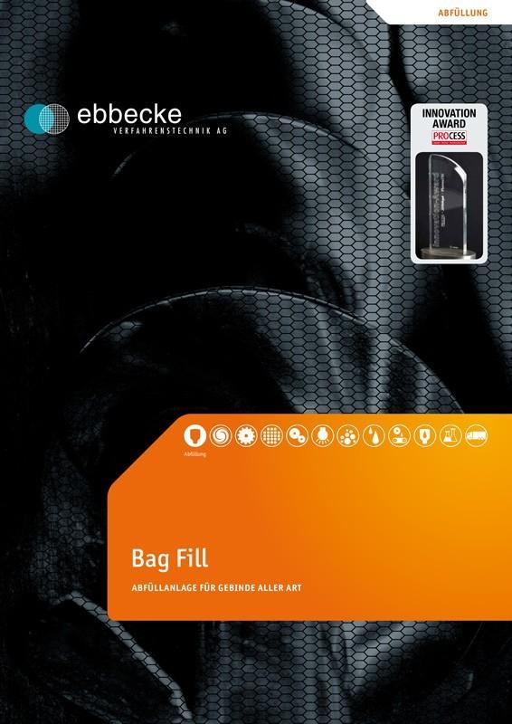 Ebbecke Verfahrenstechnik flyer bagfill