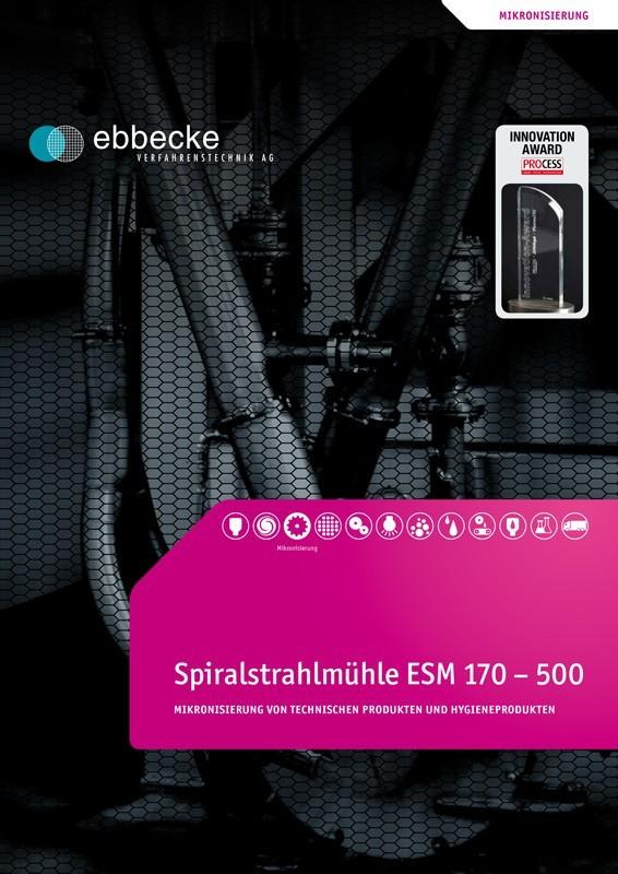 Ebbecke Verfahrenstechnik Flyer Spiralstrahlmühle