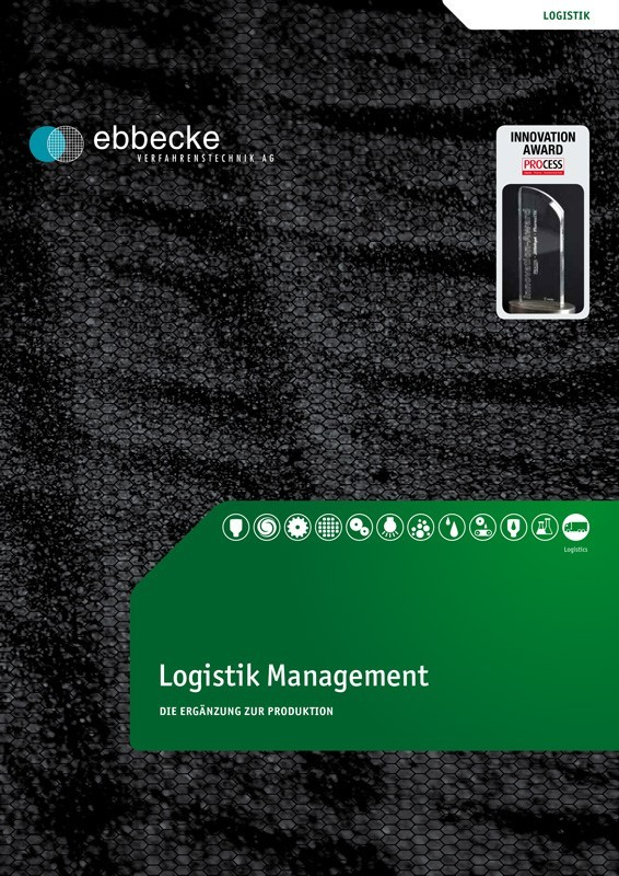 Ebbecke Verfahrenstechnik Flyer Logistik Management