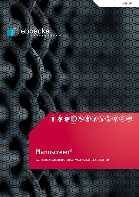 Ebbecke Verfahrenstechnik Flyer Planoscreen