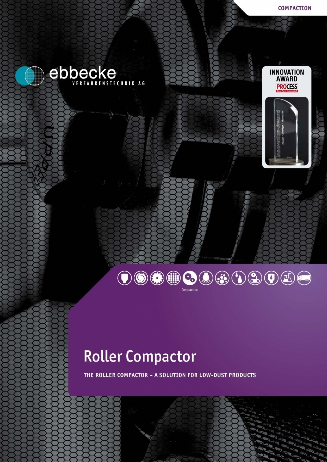 Ebbecke Verfahrenstechnik Flyer Roller Compactor