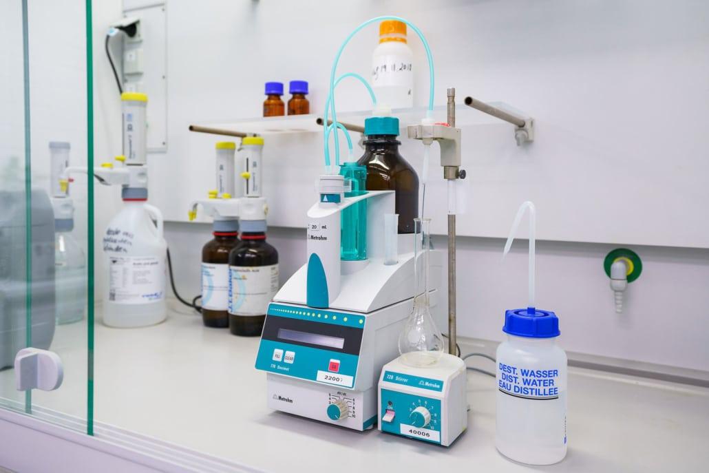 Ebbecke Verfahrenstechnik Labor Geräte