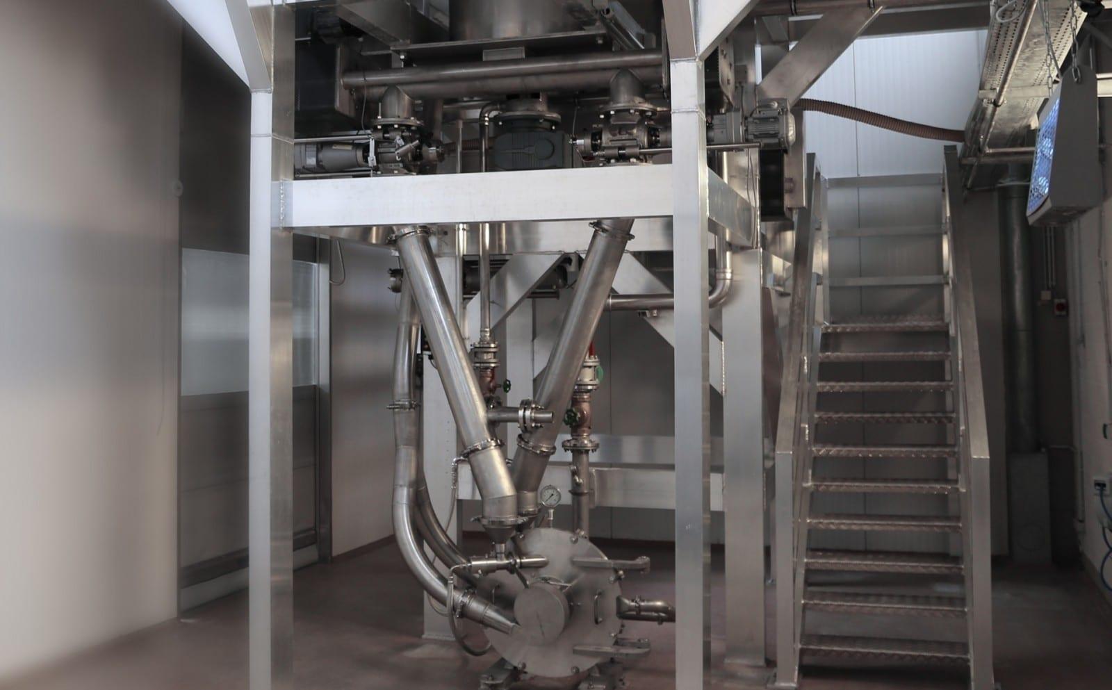 Ebbecke Verfahrenstechnik Spiralstrahlmühle