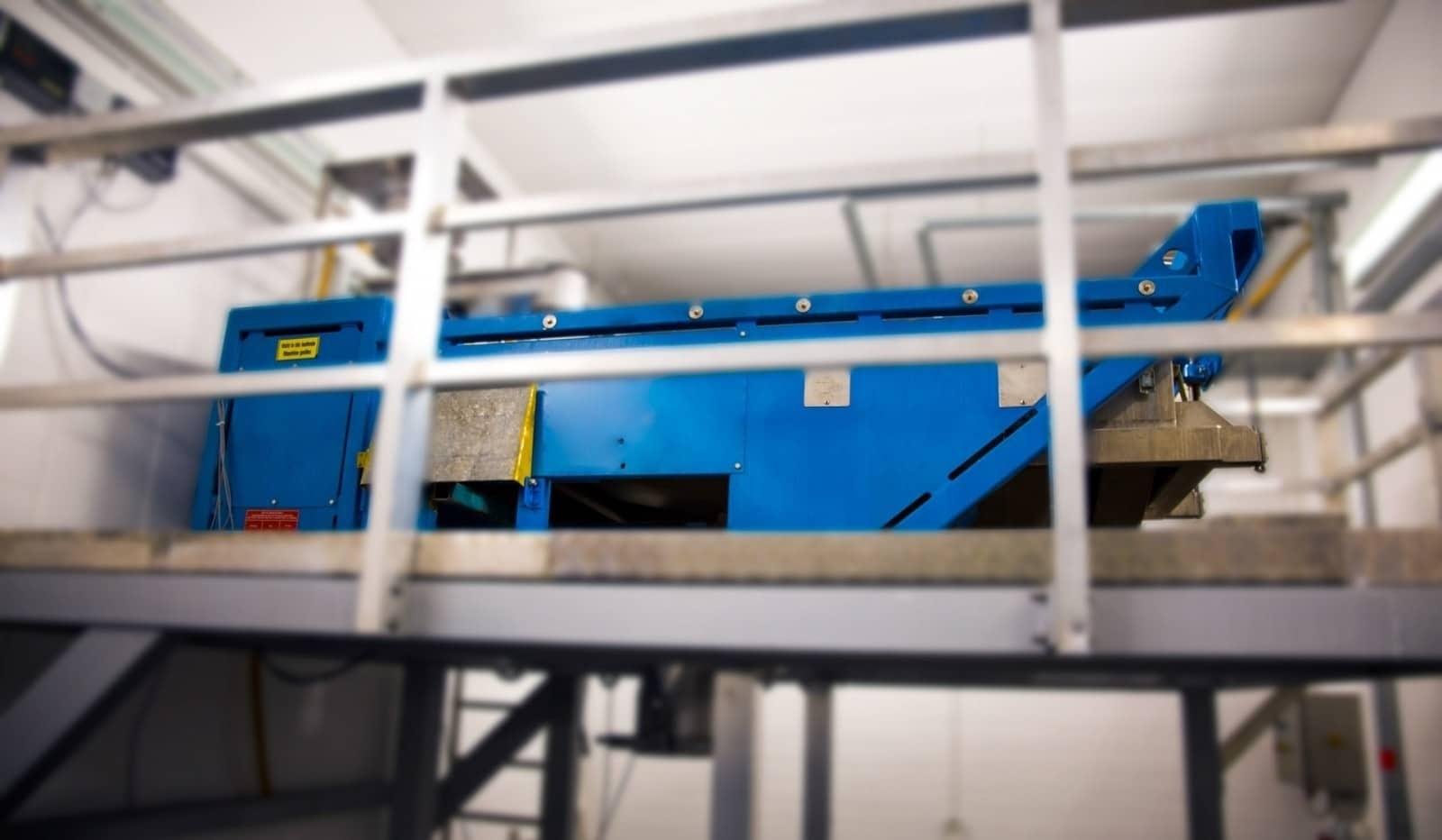 Ultraschallsiebmaschine zur Lohnsiebung