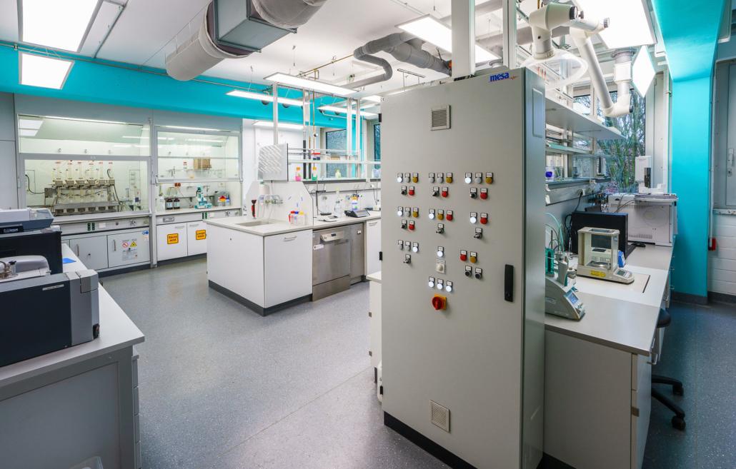 Ebbecke Verfahrenstechnik Labor