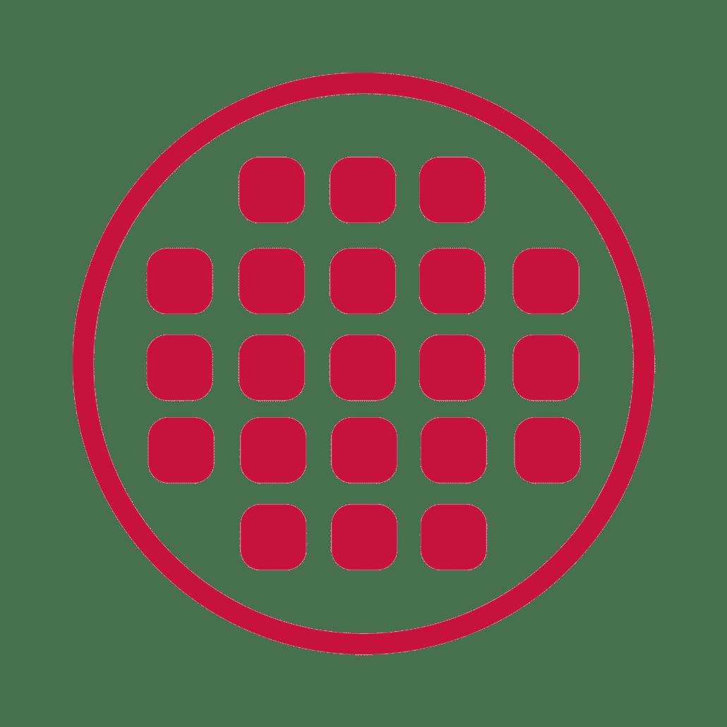 Ebbecke Verfahrenstechnik siebung icon