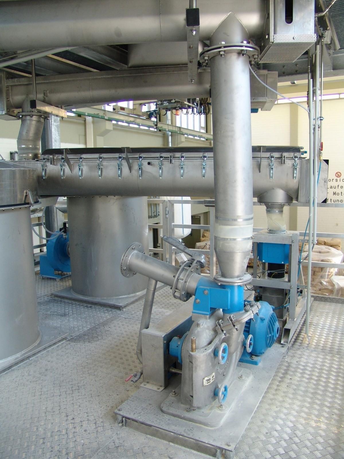 Ebbecke Verfahrenstechnik Fine Mill wird auch bei kryogener Vermahlung eingesetzt
